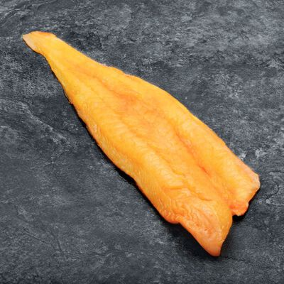 Filet de haddock fumé, Melanogrammus Aeglefinus, d'Atlantique Nord Est