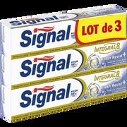 Signal Dentifrice Intégral 8 Fresh Resist Plus Signal, 3 Tubes De 75ml