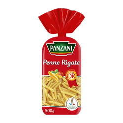 Pâtes fantaisies Penne Rigate PANZANI, 500g