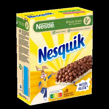 Nestlé Barres De Céréales Nesquik, 6x25g