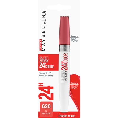 """Rouge à lèvres """"Superstay 24H"""" Double Embout 2x5g - - blister MAYBELLINE"""