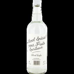 Alcool blanc spécial pour fruits spiritueux, 40°, bouteille de 1l