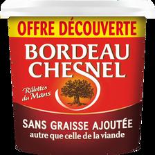 Bordeau Chesnel Rillettes Pur Porc Sans Graisse  400g Offre Découverte