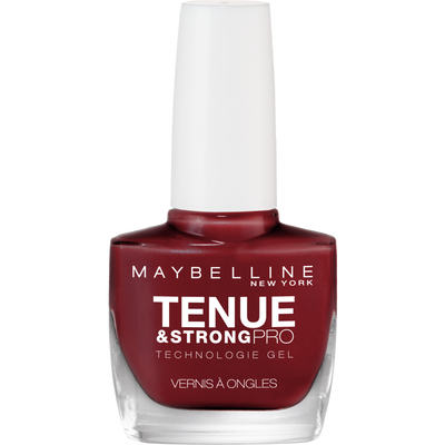 Vernis à ongles tenue&strong pro rouge laque 501 MAYBELLINE blister