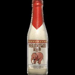 Bière red DELIRIUM, 8°, bouteille de 33cl