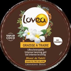 Graisse à traire parfum coco au monoï LOVEA, pot de 150ml