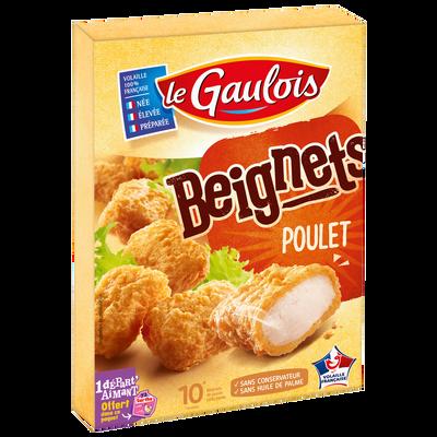 Beignet de poulet, LE GAULOIS, 10 pièces, 200g