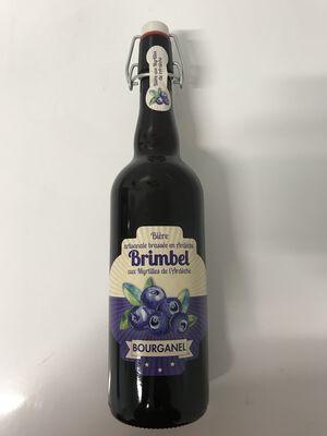 Bière artisanale bourganel aux myrtilles de l'Ardèche 75cl