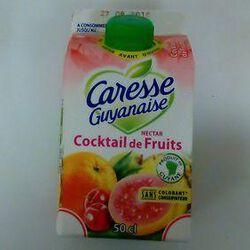 CARESSE GUYANAISE NECTAR COCKTAIL DE FRUITS 1/2L
