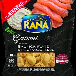 Tortellini farcies au saumon fumé et fromages frais RANA, 250g