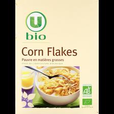 Corn flakes U BIO, paquet de 375g
