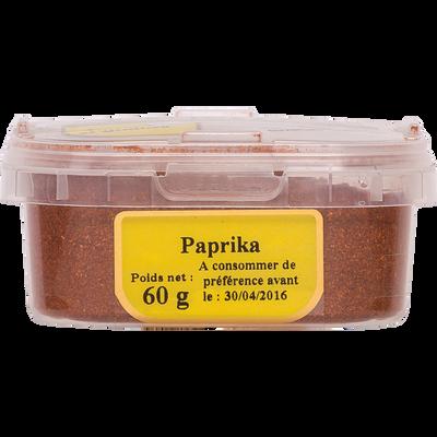 Paprika thermisé, pot 60g