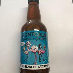 Bière blanche MONTCALM BIO 4.5° 33cl