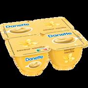 Danone Crème Dessert Vanille Danette, 4x125g