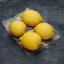 Citron Verna, BIO, calibre 4, catégorie 2, Espagne, sachet 4 fruits