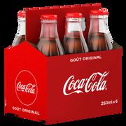 Coca Cola Coca Cola Pack Bouteilles Ivp 6x25cl