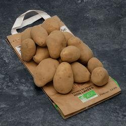 Pomme de terre Rikéa, De consommation, BIO, calibre 28+mm, catégorie 2, France, sachet 1kg