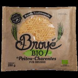Broyés du Poitou Bio Biscuiterie Augereau, 280g