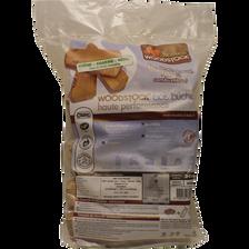 Buches bois 30cm en sac 25dm3,haute performance,séchées à moins de 20%d'humidité,sans mousse