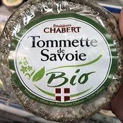 Tommette de Savoie BIO LAIT Pasteurisé 230g Fromagerie CHABERT