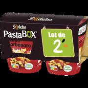 Sodeb'O Pasta Box Penne À La Carbonara Sodebo 2x300g