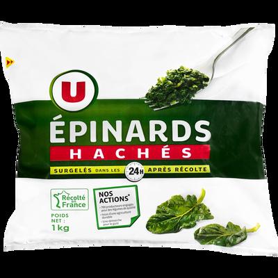 Epinards hâchés U, 1kg