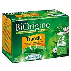 Infusion Transit, BIORIGINE, boite de 20 sachets de 17,5g,