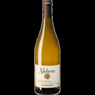 Pays d'Oc Chardonnay IGP blanc Naturae bio sans sulfites, bouteille de75cl
