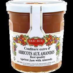 Confiture à l'abricot et amandes ERIC BUR, 370g