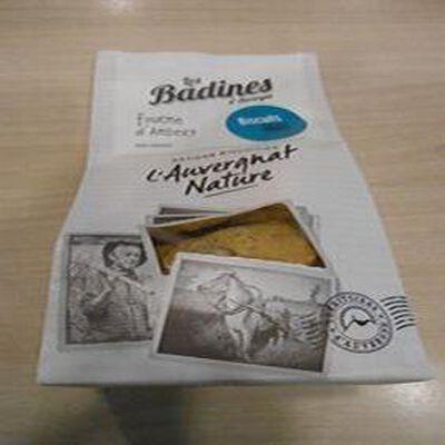 Biscuits salés à la fourme d'Ambert  les badines d'Auvergne  artisan biscuitier 140g