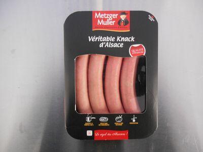 Knack d'Alsace qualité supérieure 4 pièces 240g