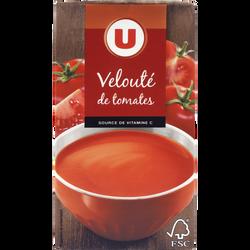 Velouté de tomates U, brique de 1l