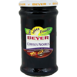 Cerises noires au sirop BEYER, 350g