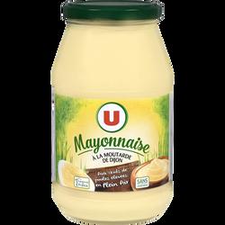 Mayonnaise U, bocal de 470g