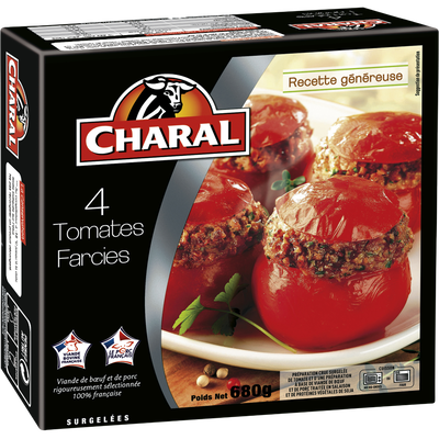 Tomates farcies CHARAL, 4x170g