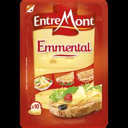 Emmental lait pasteurisé 28%MG tranché Entremont 150g