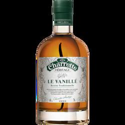 Rhum arrangé  Héritage le vanillé CHARRETTE, 40°, bouteille de 70cl