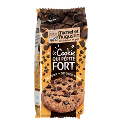 Le cookie qui pépite fort au chcolat noir MICHEL ET AUGUSTIN 200g
