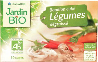 Bouillon de légumes dégraissé en cube JARDIN BIO