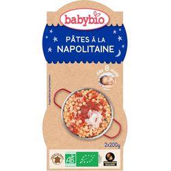 BABYBIO B N PATES NAPOL 2X200G