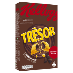 Céréales TRESOR chocolat noir KELLOGG'S, paquet de 620g