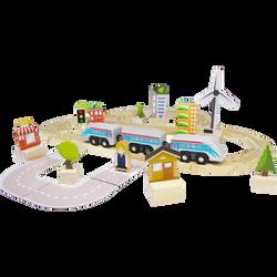 Train moderne 60 pièces - Dès 3 ans
