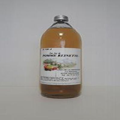 Pur jus de Pomme Reinette GAEC DE LA SIBERTIERE bouteille 1L