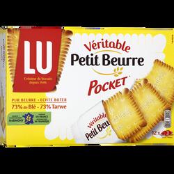 """Véritable Petit Beurre """"Dans la poche"""" LU, 12 sachets, 300g"""