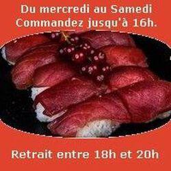 Tobo, 10 sushi thon rouge de Méditerranée , SUSHI MONT BLANC