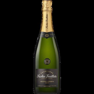 Champagne brut  Grande Réserve NICOLAS FEUILLATTE, 75cl