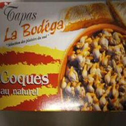 COQUES AU NATUREL BODEGA 112G