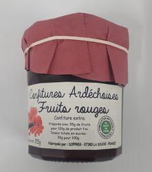 Confiture de fruit rouge 355g, Sopreg