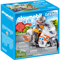 URGENTISTE/MOTO PLAYMOBIL