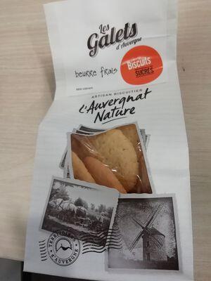 Galets d'Auvergne au beurre artisan biscuitier de Saint Rémy de chargnat 140g